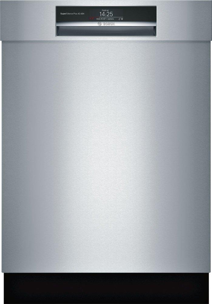 Bosch800 Rec Hndl, 8/7 Cycles, 42 Dba, Flex 3rd Rck, Rckmatic, Tft Disp - Ss