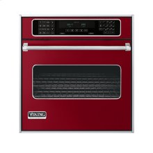 """Apple Red 27"""" Single Electric Touch Control Premiere Oven - VESO (27"""" Wide Single Electric Touch Control Premiere Oven)"""