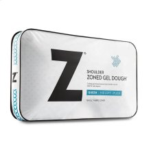 Zoned Gel Dough Shoulder Cutout Pillow, King