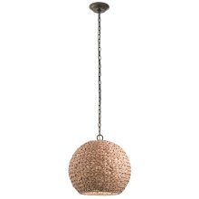 Palisades Collection Palisades 1 Light Outdoor Pendant OZ