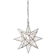 Medium Clear Star Chandelier.