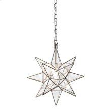 Medium Clear Star Chandelier.