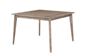"""Sq Gathering Table -top W/18"""" Butterfly Leaf & 36"""" Legs"""