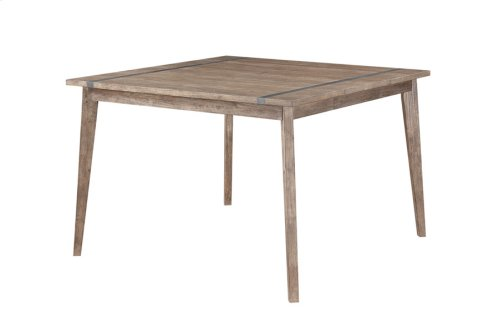"Sq Gathering Table -top W/18"" Butterfly Leaf & 36"" Legs"