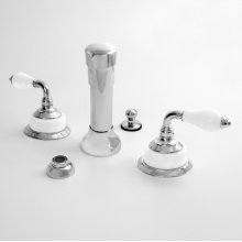 Bidet Set with Venezia Handle
