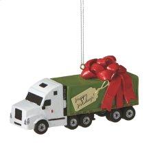 Semi Truck Ornament.