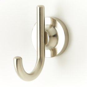 Robe Hook River (series 17) Satin Nickel