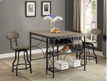 Kenneth Swivel Counter Height Stool