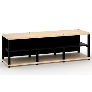 Salamander DesignsSynergy 20 Triple-Width Core Module with Center Opening, Maple with Black Posts