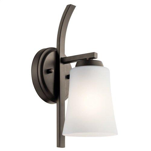 Tao 1 Light Wall Sconce Olde Bronze®