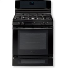 """30"""" Dual-Fuel Freestanding Range with Wave-Touch Controls"""