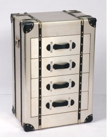 Emerald Home Ac213-07 Treviso Accent Cabinet, Champagne