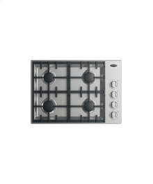 "30"" Drop-in Cooktop: 4 Burner Halo"