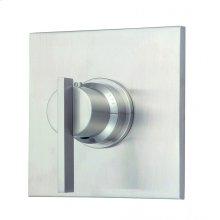 """Brushed Nickel Sirius® Single Handle 3/4"""" Thermostatic Valve Trim Kit"""