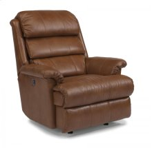 Yukon Leather Power Rocking Recliner