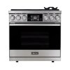 "Dacor 36"" Range, Stainless Steel, Natural Gas/high Altitude"