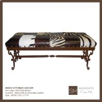 Wrought Iron Bench Product Image
