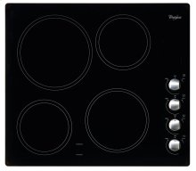 """Whirlpool® 24"""" Electric cooktop"""
