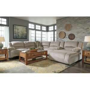 Ashley Furniture Toletta - Granite 6 Piece Sectional