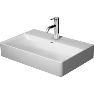 Durasquare Furniture Washbasin Compact Ground 1 Faucet Hole Punched