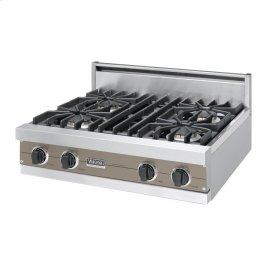 "Stone Gray 30"" Sealed Burner Rangetop - VGRT (30"" Wide, four burner)"