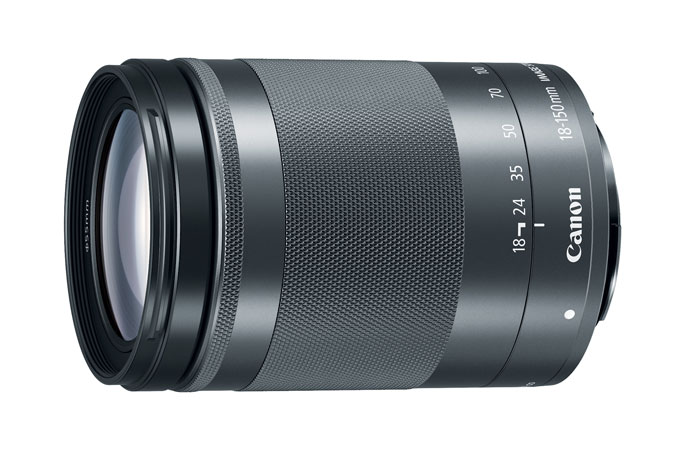 Canon EF-M 18-150mm f/3.5-6.3 IS STM Lens Graphite EF-M high zoom power lens