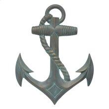 Anchor Wall Decor - Bronze Verdigris