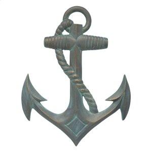 Anchor Wall Decor - Bronze Verdigris Product Image
