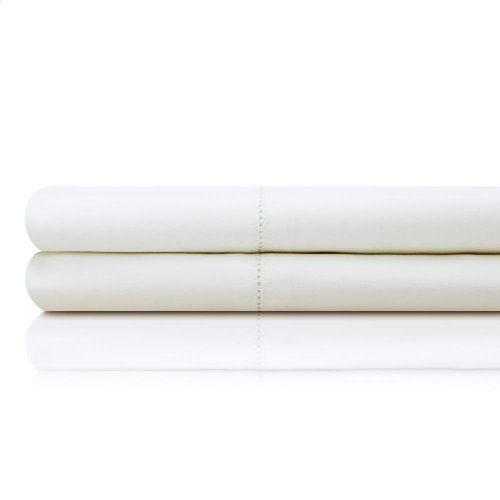 Italian Artisan Sheet Set - Queen White