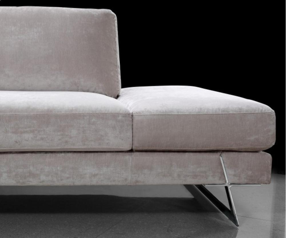Divani Casa Milano   Modern Fabric Sectional Sofa