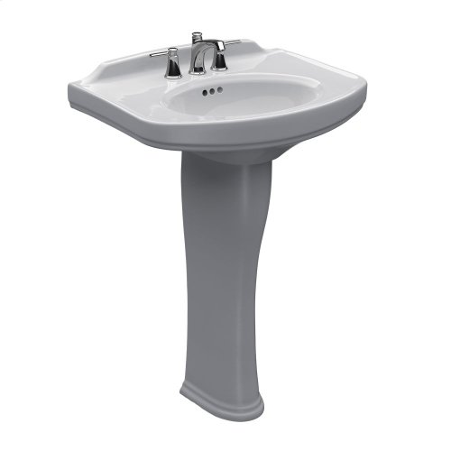 Dartmouth Pedestal Lavatory - Colonial White