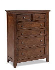 San Mateo Six Drawer Chest