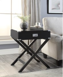 7082 Black End Table