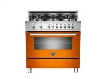 Orange 36 6-Burner, Gas Oven
