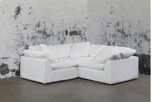 Sunset Trading Cloud Puff Slipcovered 3 Piece Modular Sectional Sofa - 391081