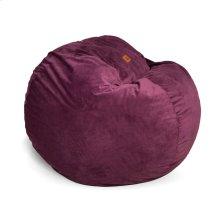 Full Chair - Plush Fur - Plum