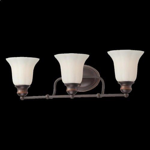 3-LIGHT BATHBAR - Oil Rubbed Bronze