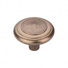 Aspen Peak Knob 2 Inch - Light Bronze