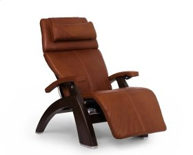 Perfect Chair PC-600 Omni-Motion Silhouette - Cognac Premium Leather - Dark Walnut
