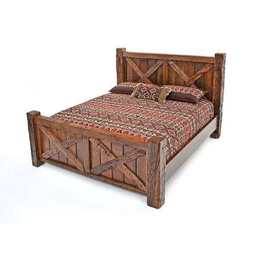 Western Traditions - Wyoming Bed - 25443 - King Bed (complete)