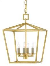 Denison Gold Small Lantern