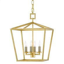 Denison Gold Small Lantern
