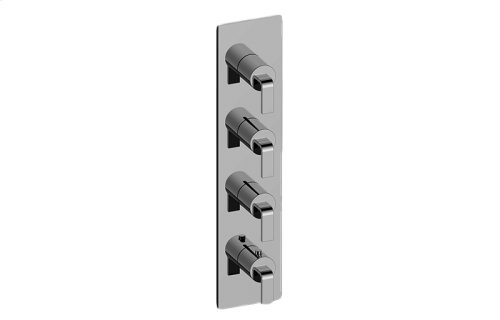 Immersion M-Series Valve Trim with Four Handles