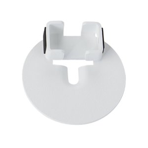 White Sonos One Compatible Adapter Bracket for the SANUS Wireless Speaker Stand - WHITE