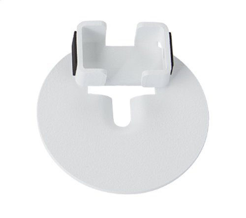 White Sonos One Compatible Adapter Bracket for the SANUS Wireless Speaker Stand