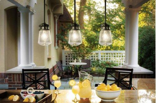 Lyndon Collection Lyndon 1 Light Outdoor Pendant AZ