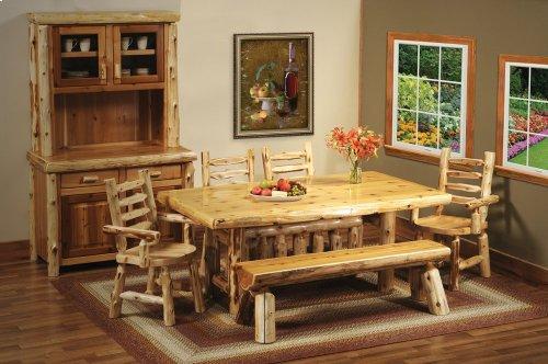 15120 In By Fireside Lodge In Alamogordo Nm Log Dining Table 6
