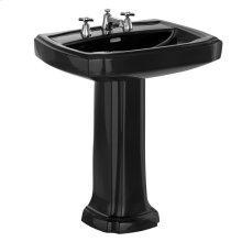 "Guinevere® 27"" Pedestal Lavatory - Ebony"