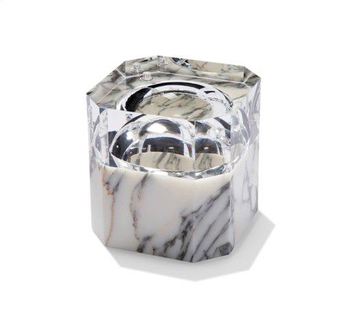 Colette Ice Bucket - Arabescato