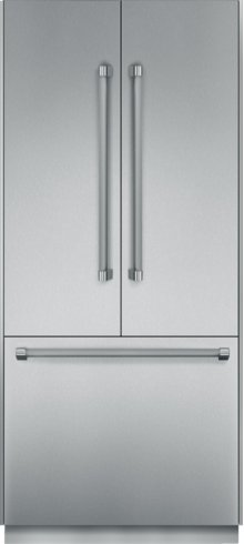 "Thermador 36"" Freedom Refrigeration with Built-In French Door, Bottom Freezer - Floor Model"